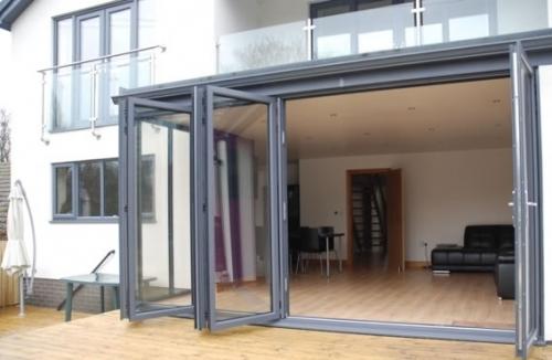 Bifold network door manufacturers domestic use in for Door 43 sheffield