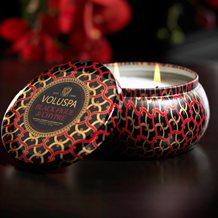 Voluspa Candle in Black Figue
