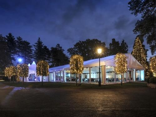 Thursford Garden Pavilion At Night