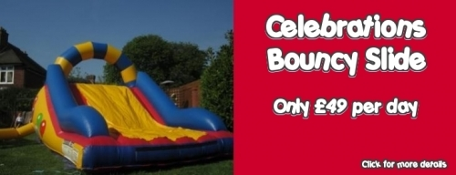Celebrations Bouncy Slide Bouncy Castle Hire Telford