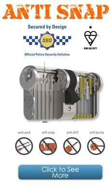 Anti Snap UPVC Multi-Point Locks