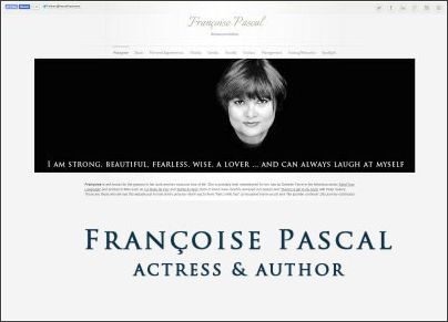 Francoise Pascal - Actress & Author