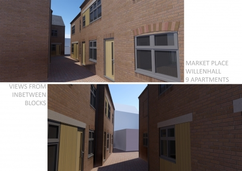Willenhall Walsall - apartment scheme