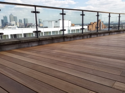 Yellow Balau Decking East London