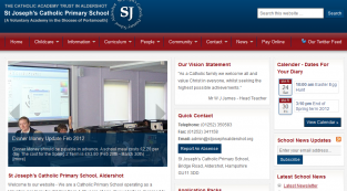 St Josephs Academy Website