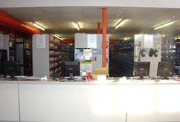Customer Sales Counter