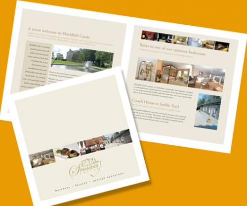 Brochure design by G3 Creative in Glasgow.