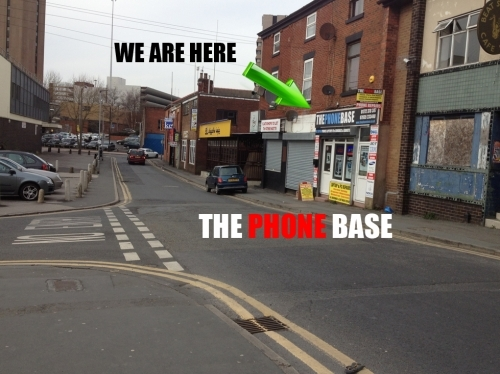 The Phone Base Preston Repair Manchester Road Location