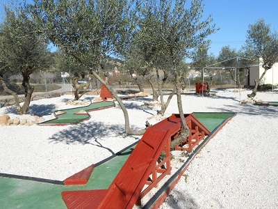 Pet Holidays Spain Mini Golf