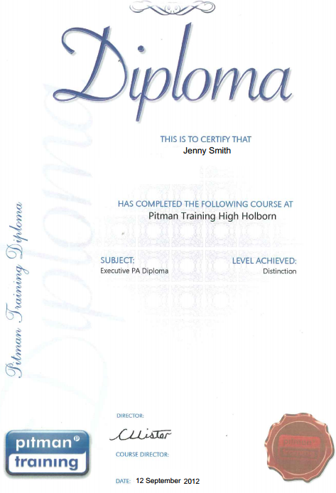 Executive PA Diploma