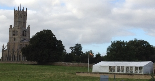 9m X 18m Birthday Marquee Marquee Hire Peterborough