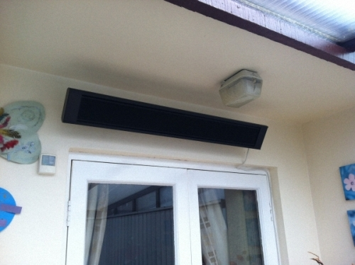 Infrared Terrace Heaters for Outdoor/Conservatories etc