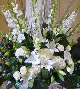 Large Pedestal Arrangements for Weddings and Events
