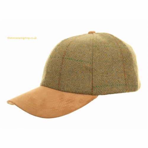 Horse Racing Country Tweed Baseball Cap