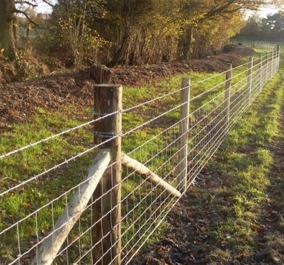 All types of stock fencing