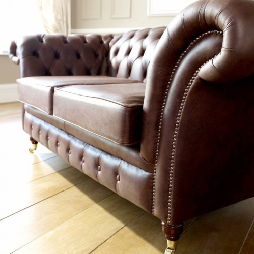 Vintage Brown Chesterfield