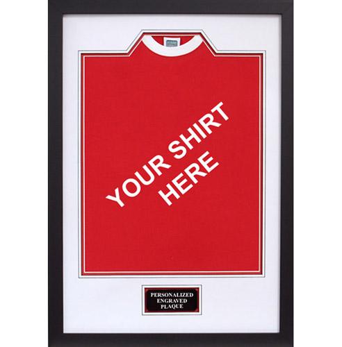 Football shirt framing