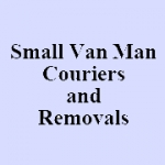 Small Van Man Couriers and Removals - house removals