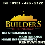 Builders In Edinburgh REFURBISHMENTS - RENOVATIONS - HOME IMPROVEMENTS