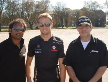 Hometyre working with Jenson Button