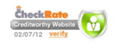 Checkrate Trustmark Or Seal Of Approval - Helping you boost web sales