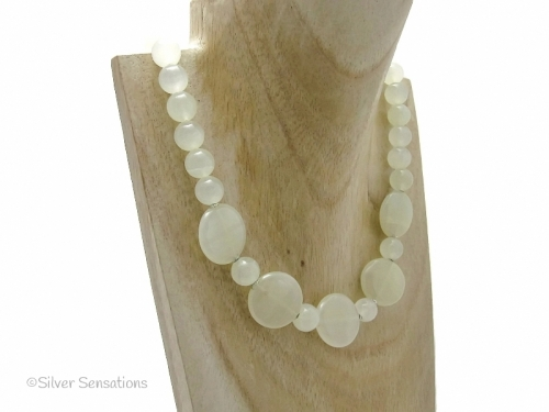 Pale Green Necklace