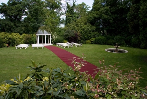 The Gazebo at Little Hermitage Wedding Venue in Higham