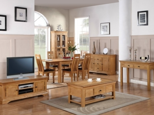 Bretagne Oak Furniture Dining And Lounge