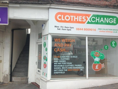 Cash 4 Clothes Ltd business area is collecting old yet wearable clothes and export to developing countries, where they are sold to families who cannot afford buying new clothes.
