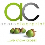 Acorn Clear Print New Logo