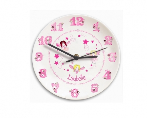 Personalised Bone China Clock £24.99