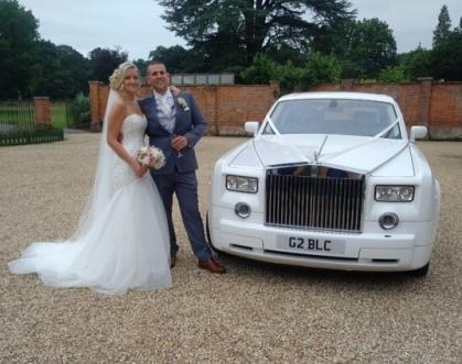 Luxury Rolls Royce Wedding Car