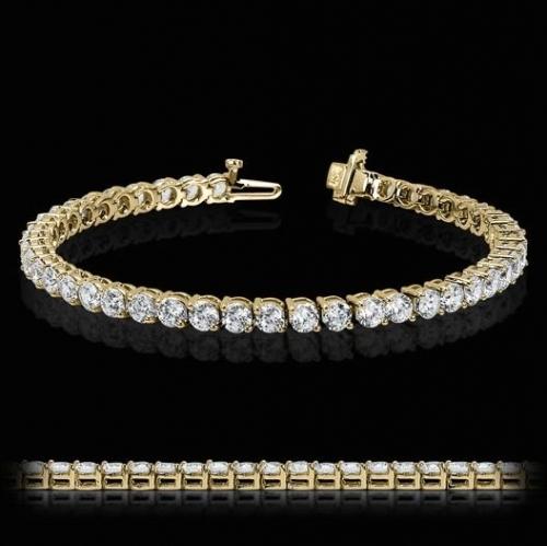Diamond Tennis Bracelet 18 ct Gold