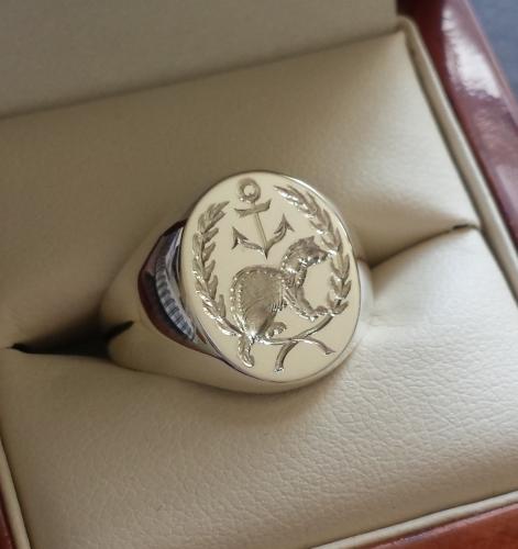 Hand Engraved Custom Design For Show