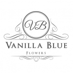 Vanilla Blue Flowers