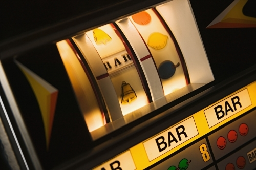 Authentic One arm Bandit Slot machines