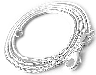 925 Sterling Silver Fine Snake Chain