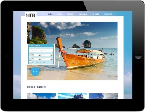 One of the websites or team have designed  - www.MyHotel.org.uk