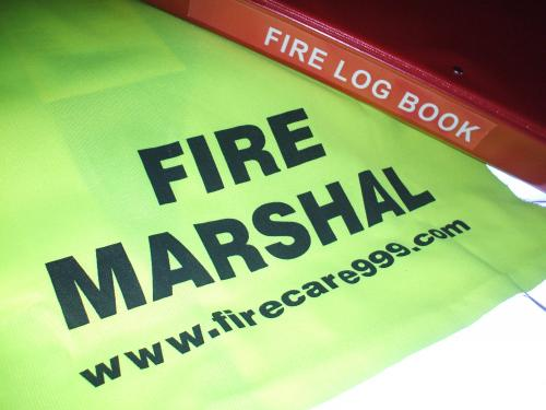 Fire Marshal Jerkin and Fire Safety Folder