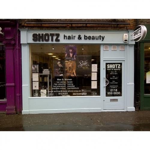 Shotz hair beauty beauty salons in reading for Reading beauty salon