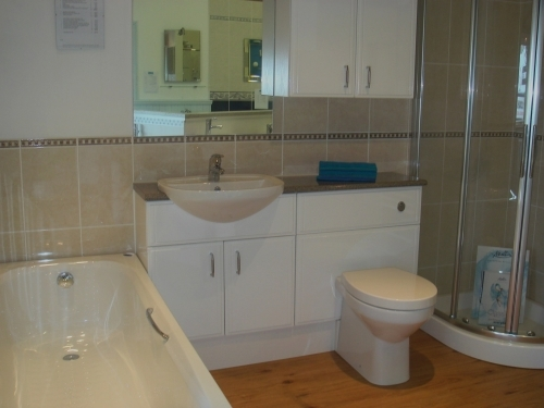 An array of bathroom furniture to view in our Showroom