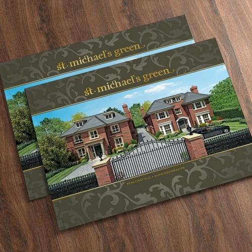 St Michaels Green Property Brochure: Design, Artwork, Floorplans, CGIs & Print