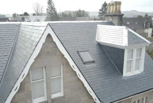 Slate Roof Replacement Glasgow Carnegie Contracts