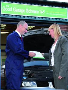 Good Garage Scheme Customer Service