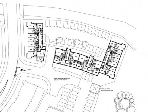 Cad Plan of a Residential Housing Scheme in Aberdeen