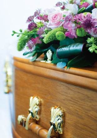Coffin Flowers