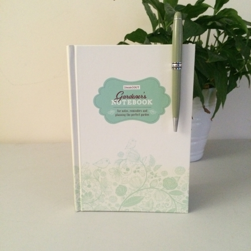 Gardeners Notebook  Pen Set - £12.99