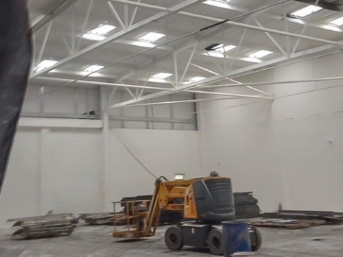 Warehouse painting