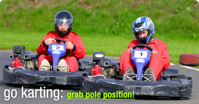 StagWeb's go karting stag weekends are the ultimate in stag experiences- try Grand Prix go karting with indoor and outdoor options.