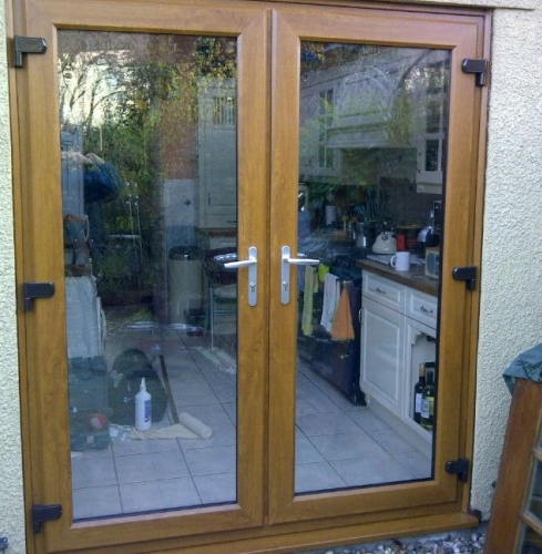 French Double Door - Oak